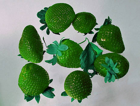 Lime Strawberries by Tom Kelly
