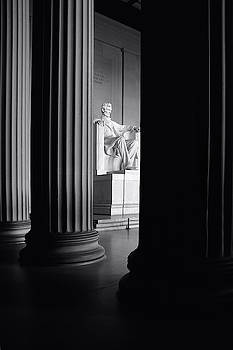 Lincoln Memorial by Fred Hood