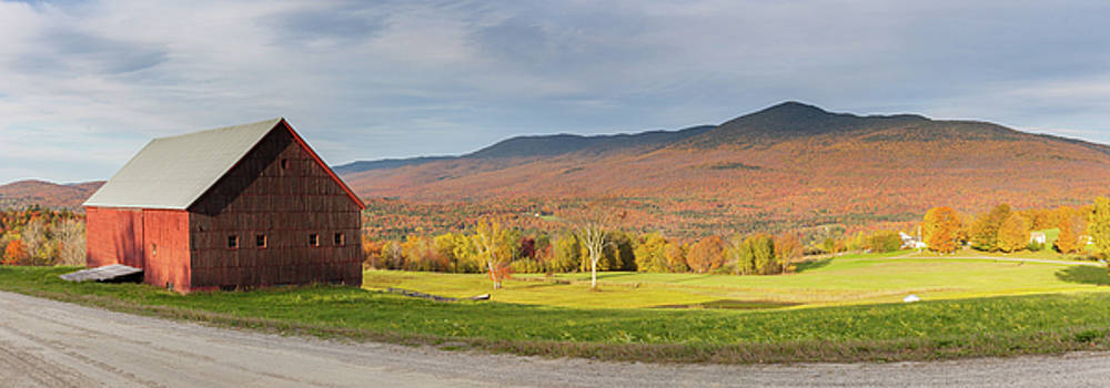 Cliff Wassmann - Lincoln Vermont Panoramic