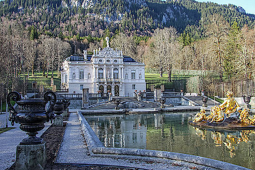 Linderhof Castle by Dawn Richards