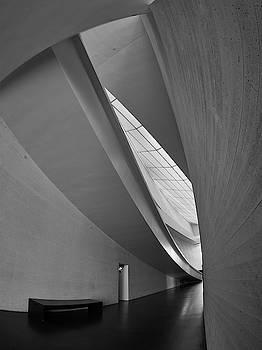 Lines. Kiasma Modern Art Museum BW by Jouko Lehto