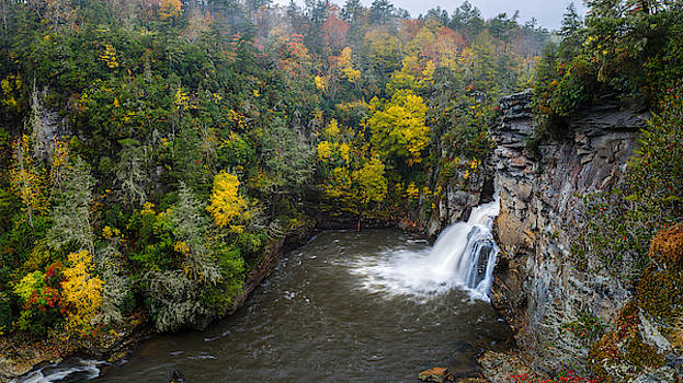 Linville Falls - Linville Gorge by Mike Koenig