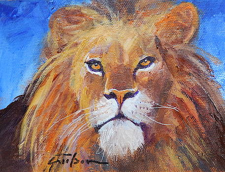 Lion Head by Ron Wilson