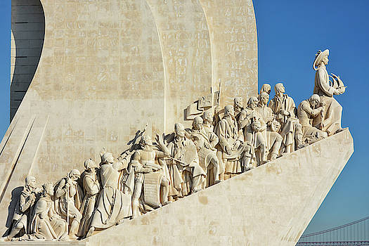 Lisbon - Monument of the Discoveries by Joachim G Pinkawa