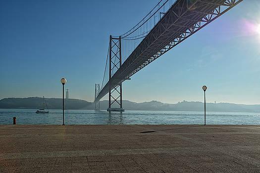 Lisbon - Ponte 25 de Abril by Joachim G Pinkawa