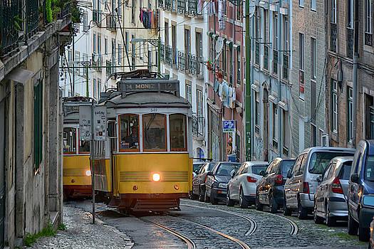 Lisbon tramway by Joachim G Pinkawa