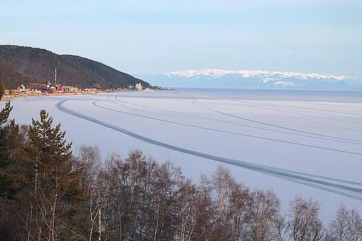 Listvyanka village, lake Baikal by Inessa Williams
