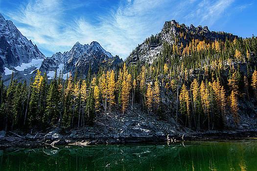 Pelo Blanco Photo - Little Colchuck Lake