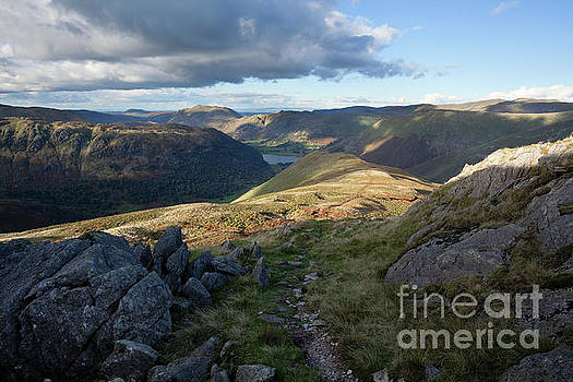 Little Hart Crag view over Hartsop by Gavin Dronfield