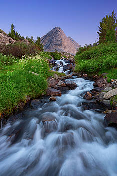 Little Lakes Cascade by Brian Knott Photography