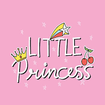 Little Princess - Baby Room Nursery Art Poster Print by Dadada Shop