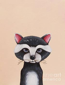 Little Raccoon by Lucia Stewart