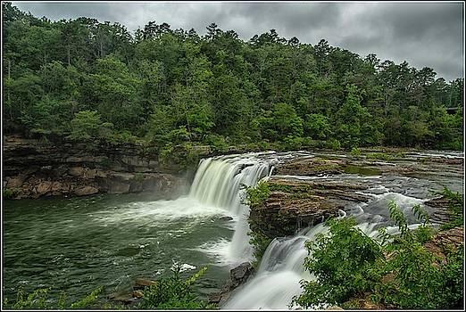 Little River Falls by Chris Dahl