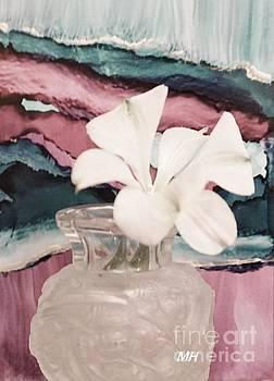 Little White Flower by Marsha Heiken