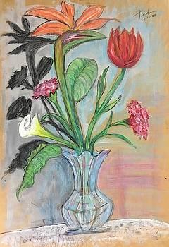 Lively Shadow Bouquet by Ricardo Penalver