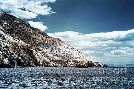 John Rizzuto - Living on the Cliffs of Positano Infrared