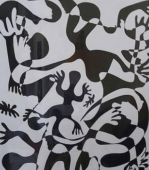 Lizards  by Edward Kofi Louis