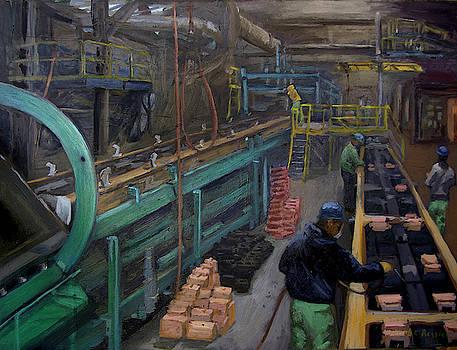 Loading Cores by Martha Ressler