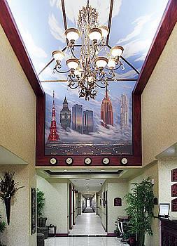 Lobby Best Western Ft Worth by Warren Gale