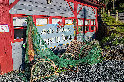 Lobster Pond Restaurant in Halls Harbour NS by David Smith