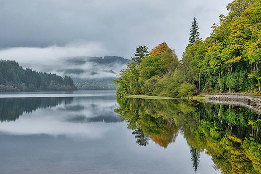 Loch Ard in Scotland by Jeremy Lavender Photography
