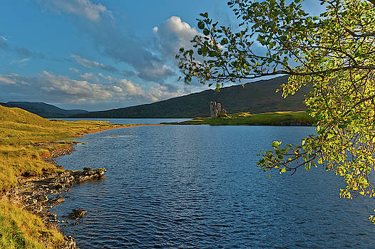 David Ross - Loch Assynt and Ardvreck Castle