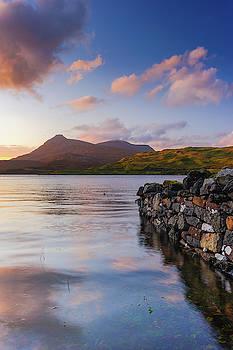 David Ross - Loch Assynt sunset