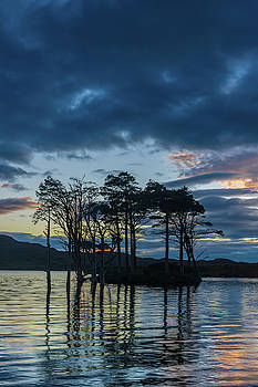 David Ross - Loch Assynt sunset, Sutherland