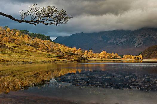 David Ross - Loch Coulin, Torridon, in autumn