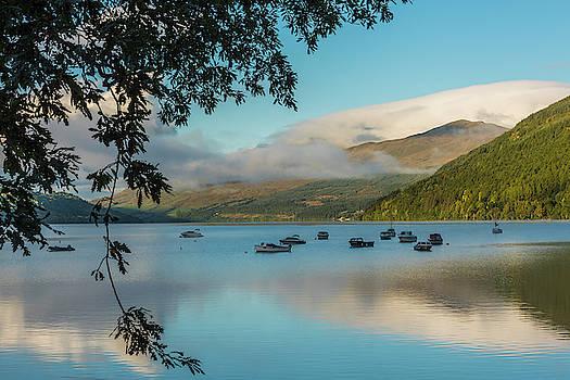 David Ross - Loch Tay dawn