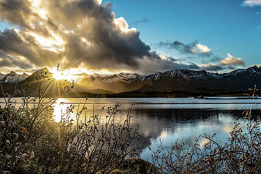 Lofoten Sunset by Kai Mueller