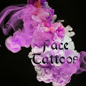 Face Tattoos Logo Art 14 by Shirley Anderson