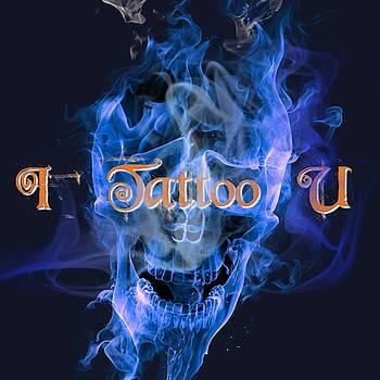 I Tattoo U Tattoo Logo Art 2 by Shirley Anderson