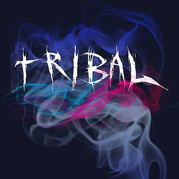Tribal Tattoo Logo Art 36 by Shirley Anderson