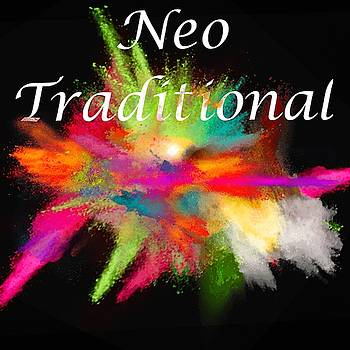 Neo Traditional Tattoo Logo Art 24 by Shirley Anderson