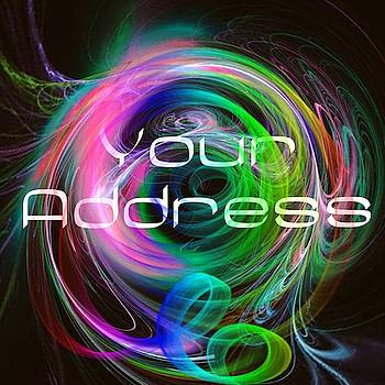 Your Address Tattoo Logo Art 33 by Shirley Anderson