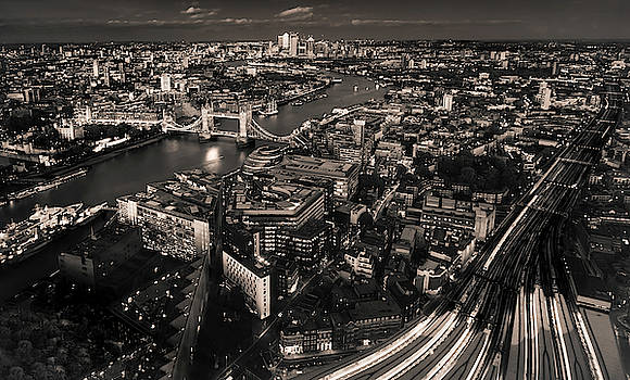 London at Night by Chris Cousins