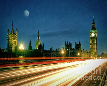 London by Night by Edmund Nagele