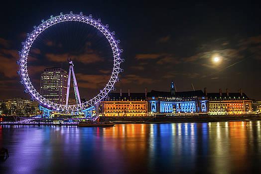 David Ross - London Eye at Night