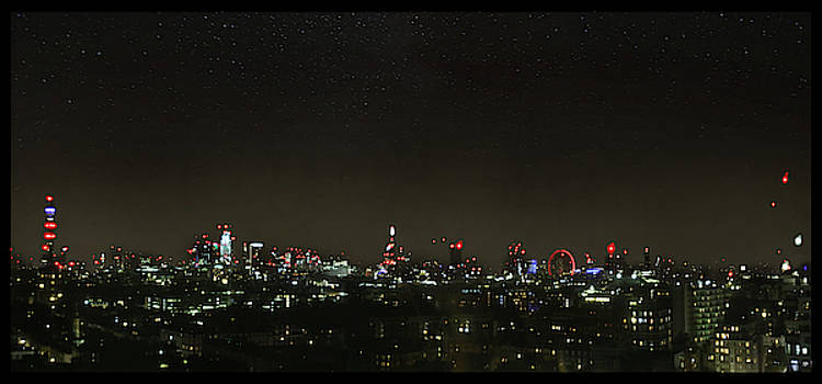 London Skyline by John Meader