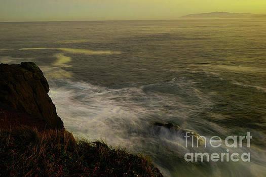 Long exposure Boilder bay Oregon coast by Jeff Swan