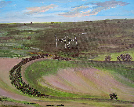 Long Man England by Inessa Williams