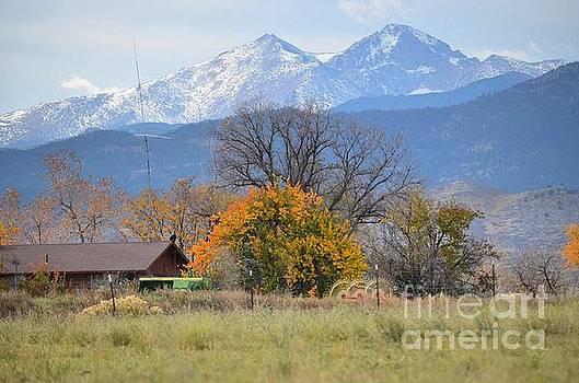 Longs Peak  by Deb Cawley