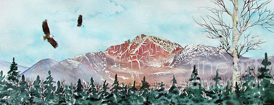 Long's Peak Magesty by Donlyn Arbuthnot