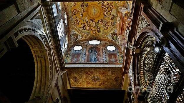 Looking Up at the Cordoba Mezquita 2 by Tony Lee