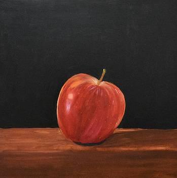 Lopsided Apple by Emily Warren