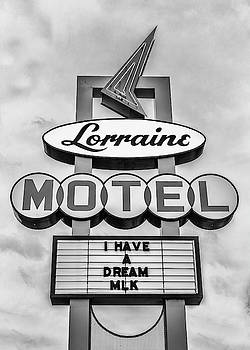Lorraine Motel Neon Sign by Susan Rissi Tregoning