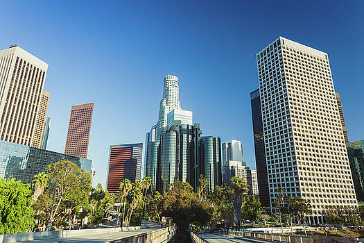 Los Angeles, California, USA downtown by Natalia Macheda
