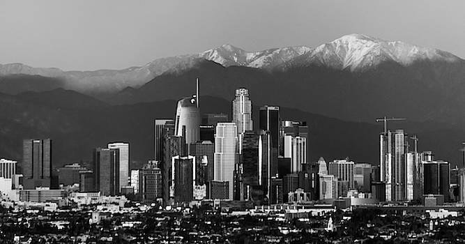 Los Angeles Monochrome by April Reppucci