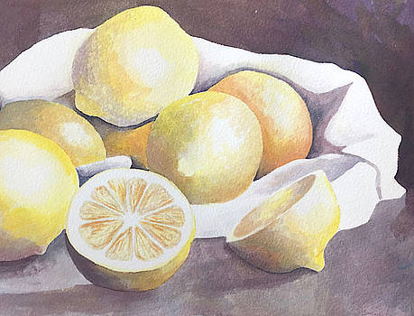 Lots of Lemons by Nancy Goldman